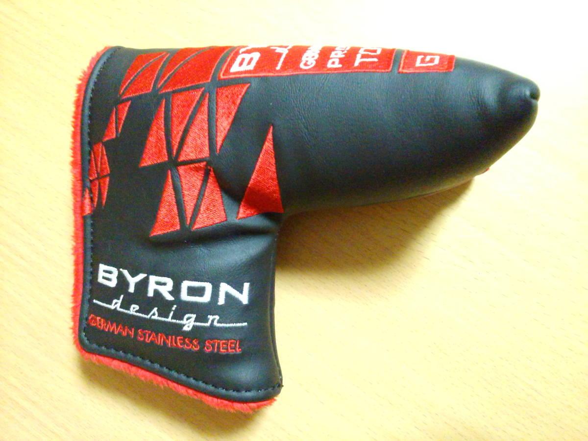 バイロンデザイン BYRON DESIGN GSS ツアーオンリー 370G シャンペーンブラック仕上げ スーパーストローク装着 シャフトカット 50本限定_画像5