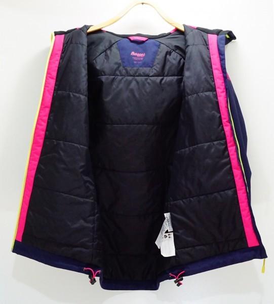 北欧ノルウェー本格アウトドアブランドBergans 防水透湿中綿入り 北欧美デザイン ウインタージャケット ジュニア152 日本レディスS相当も可_画像3