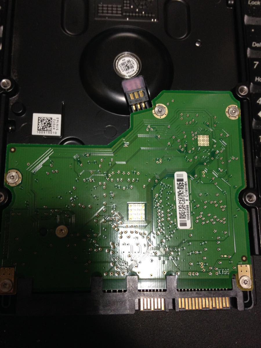 【ジャンク扱い】[HDD] Seagate Barracuda 7200.11 1500GB ST31500341AS 9JU138-302 1.5TB : 管理2_画像4
