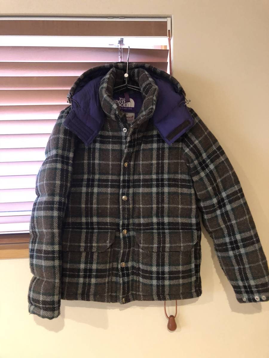135783235 THE NORTH FACE PURPLE LABEL down jacket S North Face purple lable ...