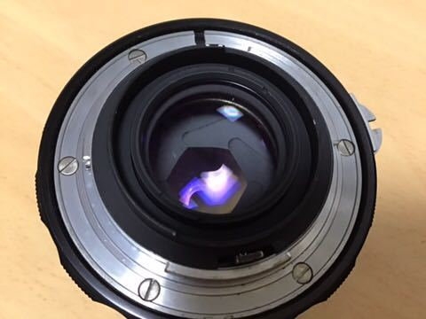 Nikon F アイレベル NIKKOR-H AUTO 1:2 f=50mm_画像7