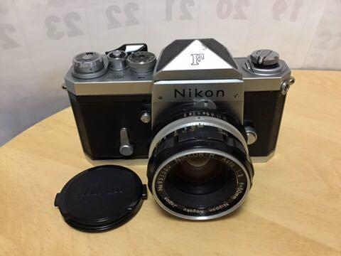 Nikon F アイレベル NIKKOR-H AUTO 1:2 f=50mm