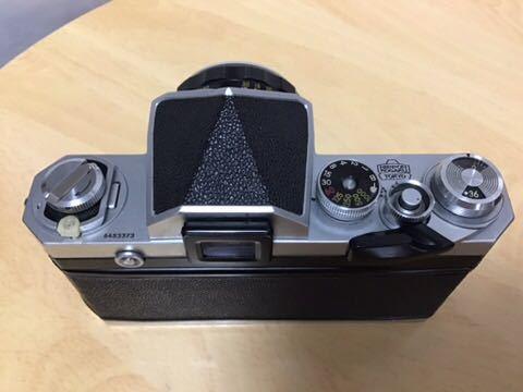 Nikon F アイレベル NIKKOR-H AUTO 1:2 f=50mm_画像2