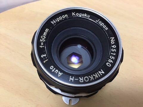 Nikon F アイレベル NIKKOR-H AUTO 1:2 f=50mm_画像6