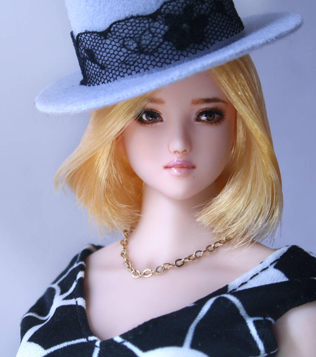*Sweet Marble*「莉子」(首穴加工済み)*1/6カスタムヘッド*オビツ01_画像5