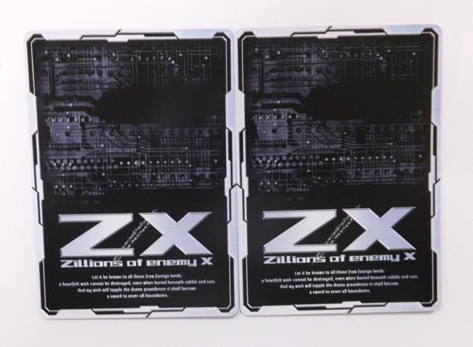 """●Z/X ゼクス OBR ZP01-040/041 """"華望契騎""""アニムス (上・下) ホロ 2枚セット_画像2"""