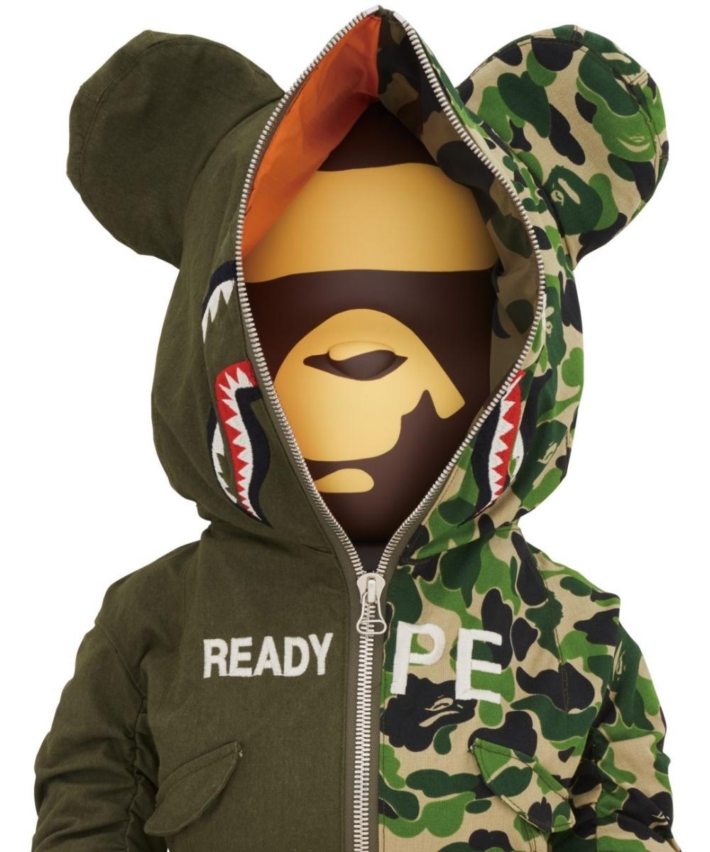 当選★BE@BRICK READYMADE x A BATHING APE 1000% ベアブリック エイプ レディメイド 新品未開封 フィギュア _画像3