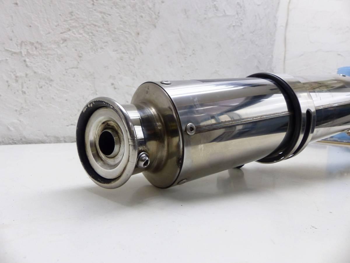 ホンダエイプ2用縦型エンジン用ステンレスマフラー動作問題無エイプ2用貴重美品エイプモンキーパーツ多数出品同梱包可能160サイズ_画像7