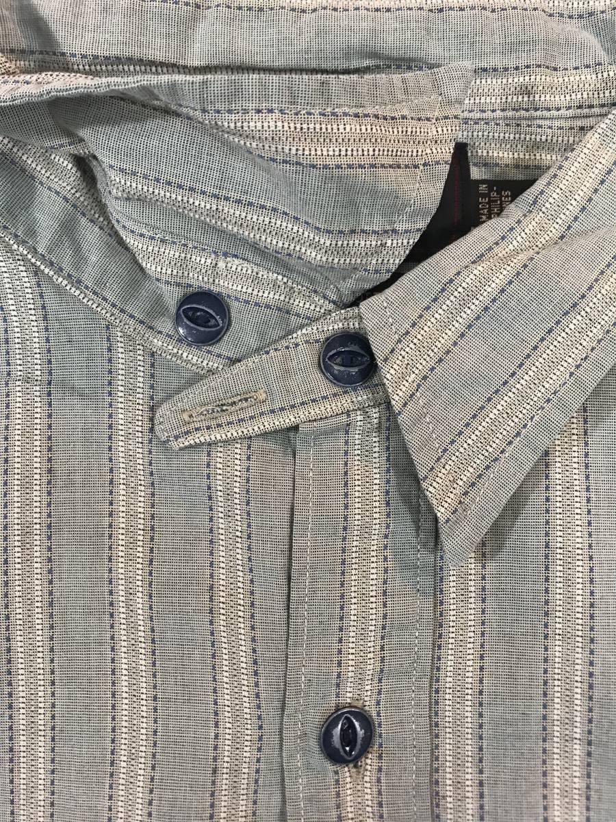 新品 13682 RRL ダブルアールエル XLサイズ 長袖 シャツ polo ralph lauren ラルフ ローレン ポロ ビンテージ ワーク ストライプ_画像6