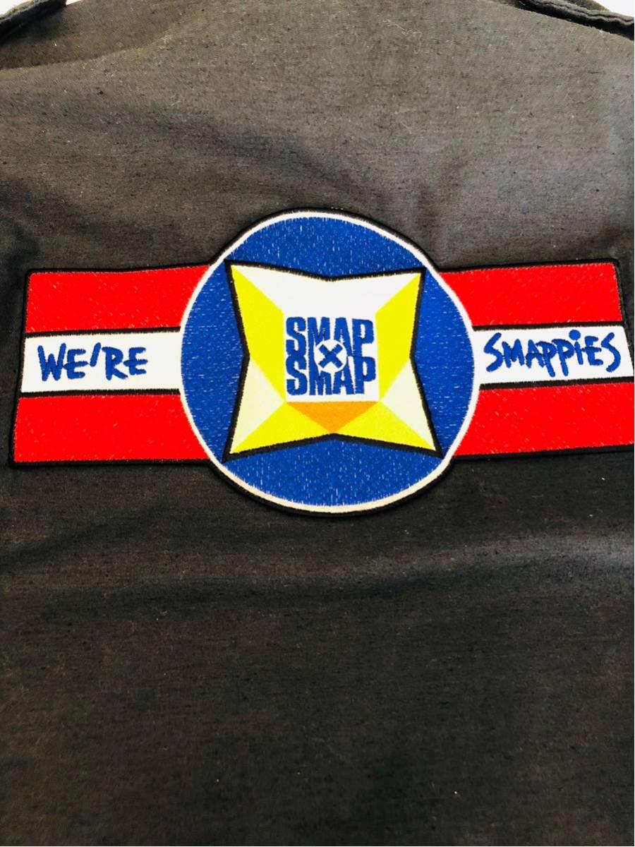 激レア 非売品 スマスマ スタッフ用ジャケット アルファインダストリーズ製 ミリタリー SMAP×SMAP smappies_画像2