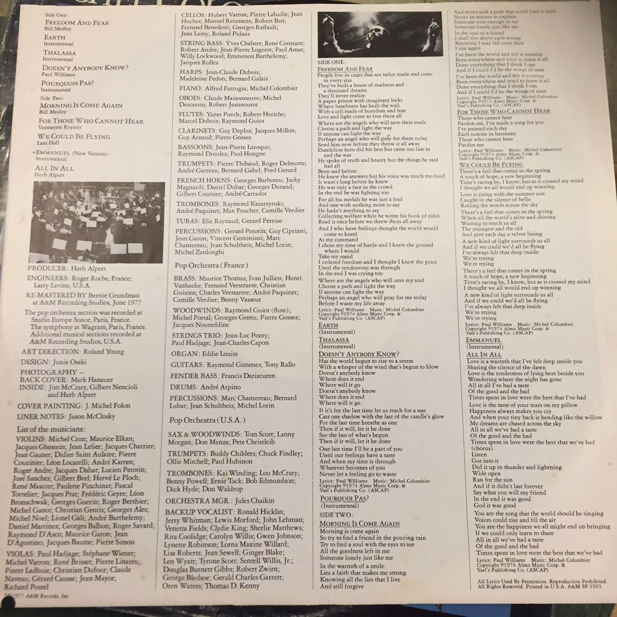 MICHEL COLOMBIER/WING/VA/BLACK SHEEPネタ プロモ盤_画像3