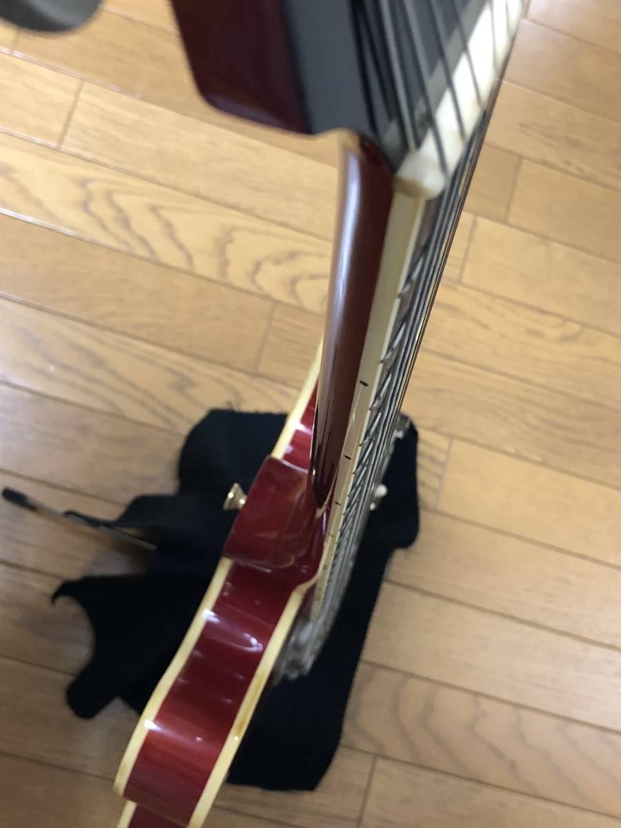 レア個体! 日本製 CASINO バーズアイボディ Epiphone オレンジラベル エピフォン カジノ_画像7