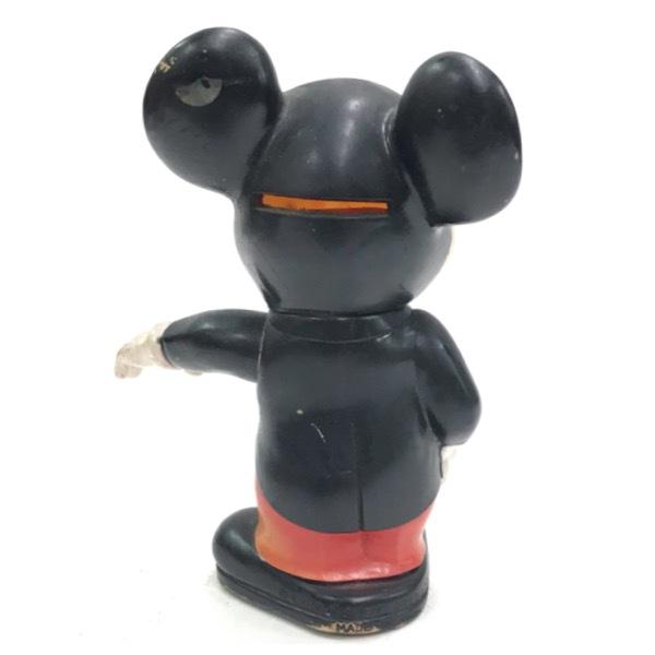 ミッキーマウス バンク 貯金箱 ドール 人形 オールドディズニー ビンテージ Mickey Mouse Disney おもちゃ レトロ アンティーク D-256_画像2