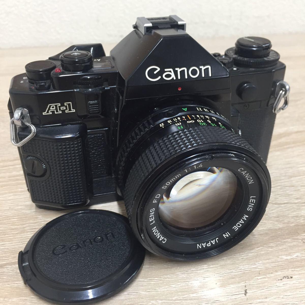71 カメラ Canon キャノン A-1 LENS FD 50mm 1:1.4