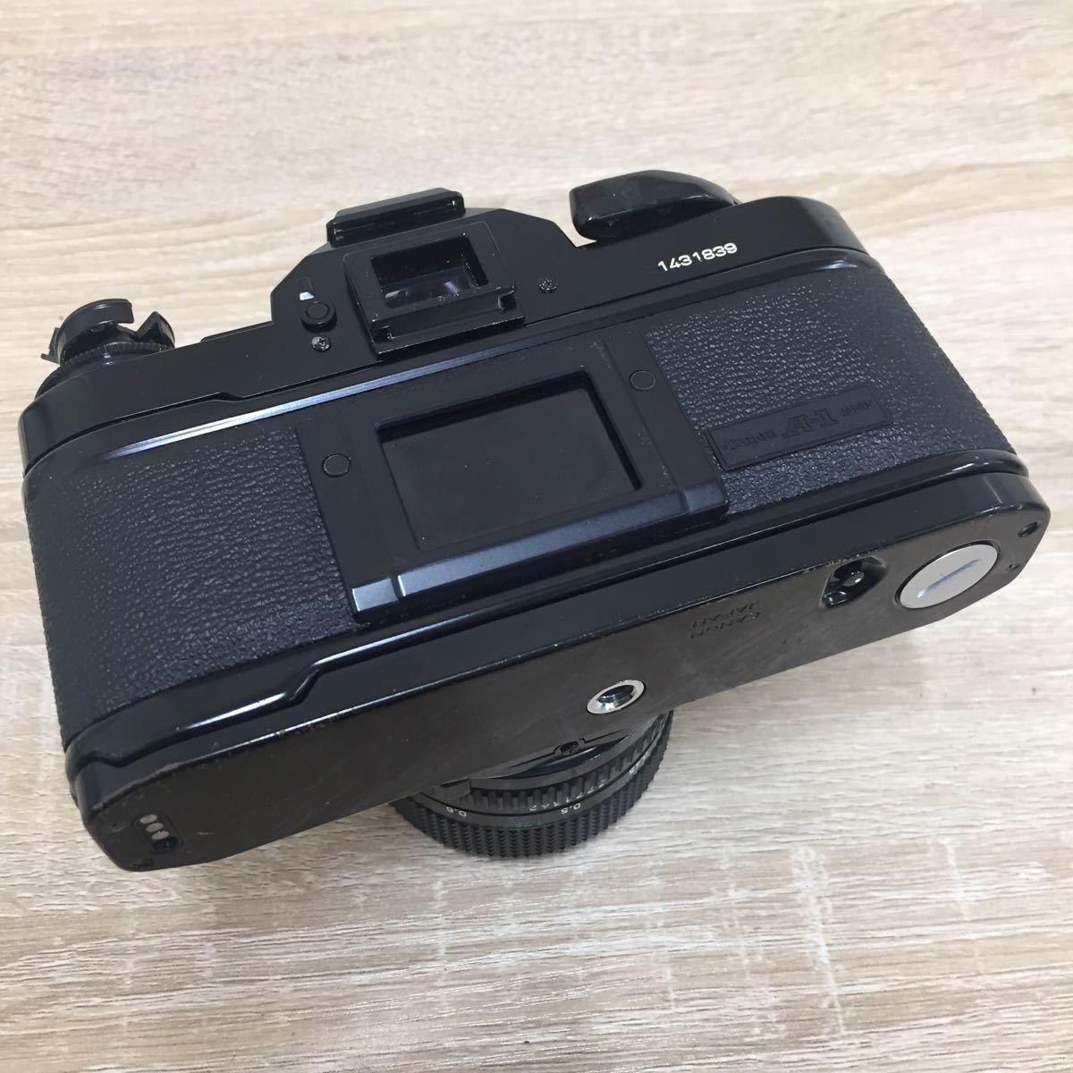 71 カメラ Canon キャノン A-1 LENS FD 50mm 1:1.4_画像6