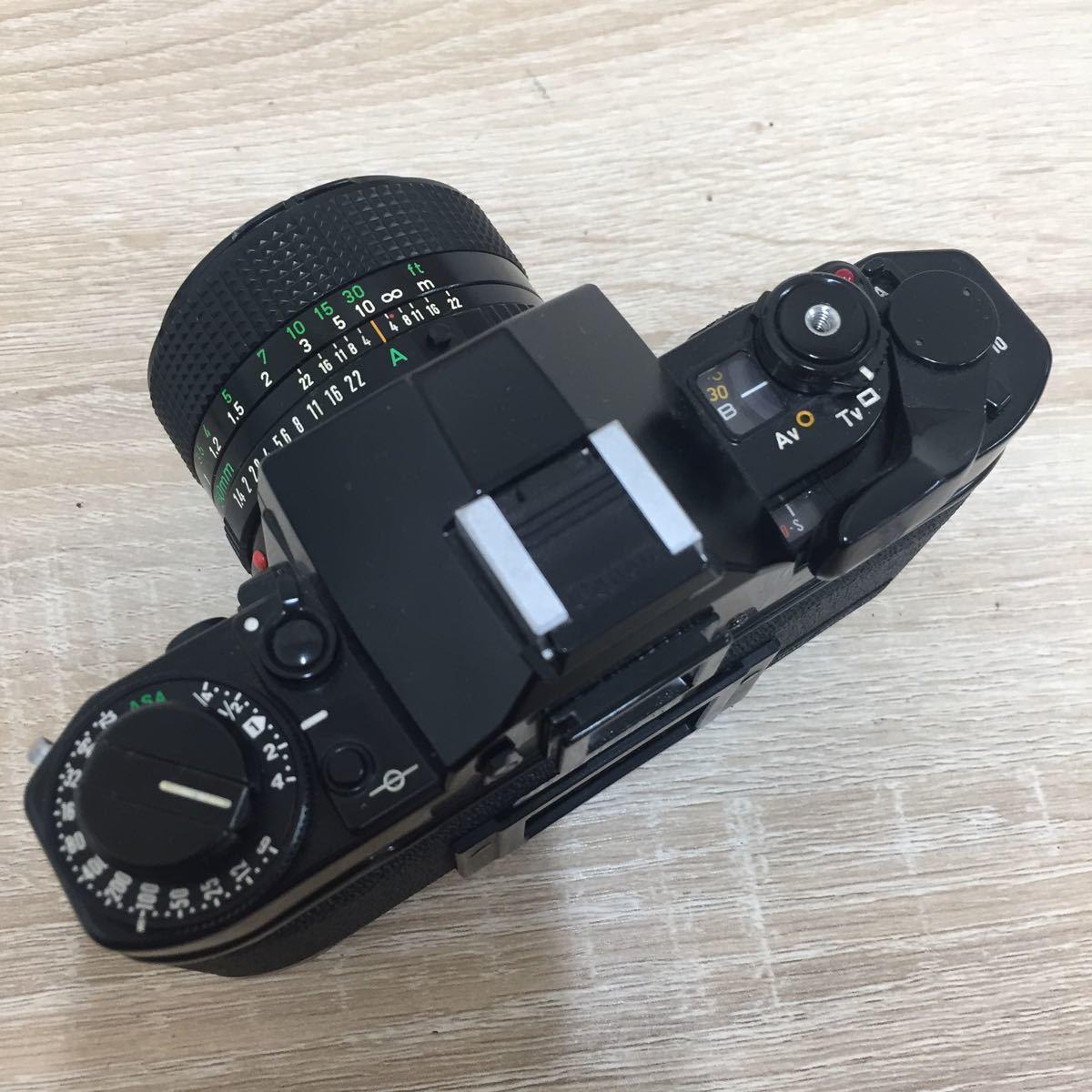 71 カメラ Canon キャノン A-1 LENS FD 50mm 1:1.4_画像7