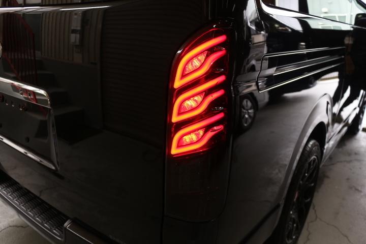 Dazz Fellows ダズフェローズ 流れる ウィンカー 200系ハイエース LED テール_画像4