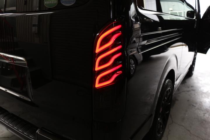 Dazz Fellows ダズフェローズ 流れる ウィンカー 200系ハイエース LED テール_画像3