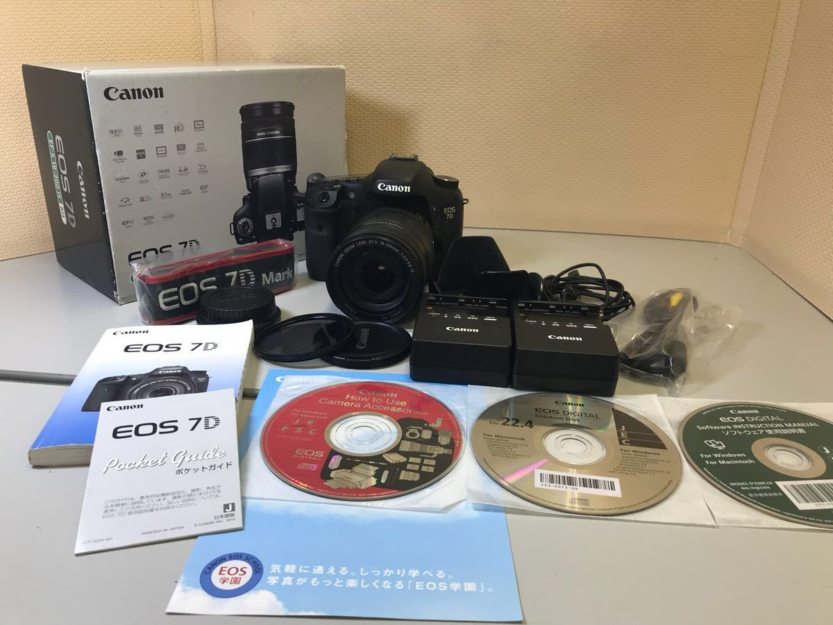 Canon eos 7D EF-S18-200 IS Kit btbt-h