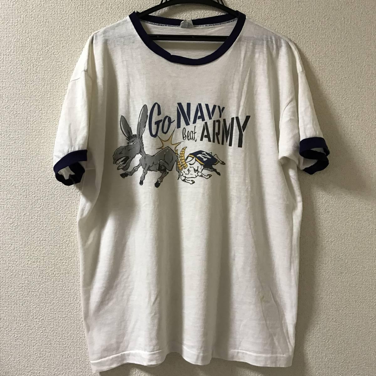 champion ビンテージ 染み込み チャンピオン バータグ トリコタグ リバース army navy usmc air force 米軍 ミリタリー Tシャツ 88 12_画像2