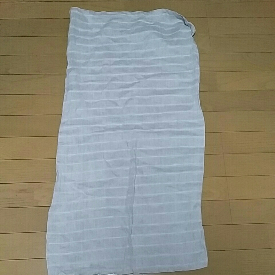 MUJI 無印良品 枕カバー 絹100% 横約47×縦約92