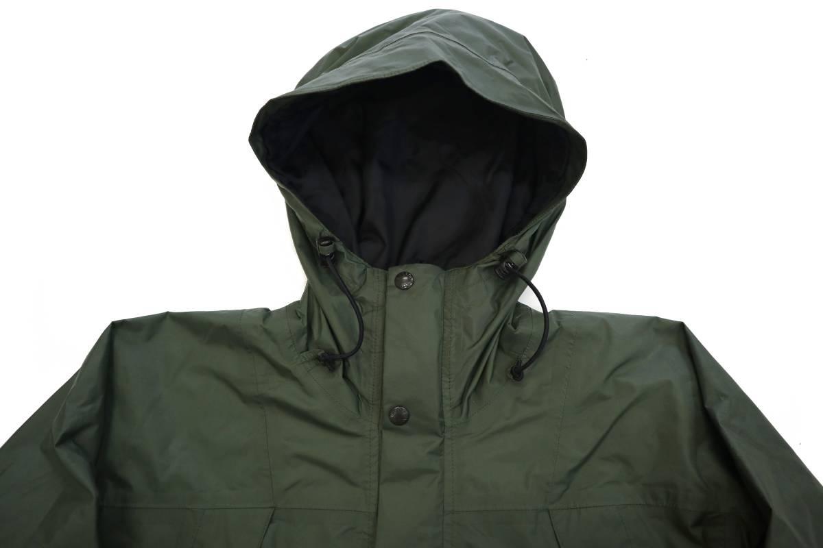 00's ビンテージ the north face gore-tex mountain light jacket カーキ 単色 ノースフェイス ゴアテックス マウンテンライト ジャケット_画像4