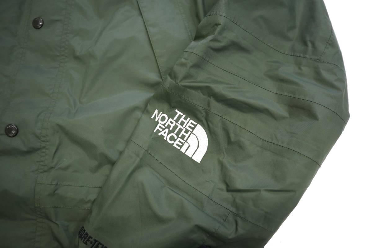 00's ビンテージ the north face gore-tex mountain light jacket カーキ 単色 ノースフェイス ゴアテックス マウンテンライト ジャケット_画像7