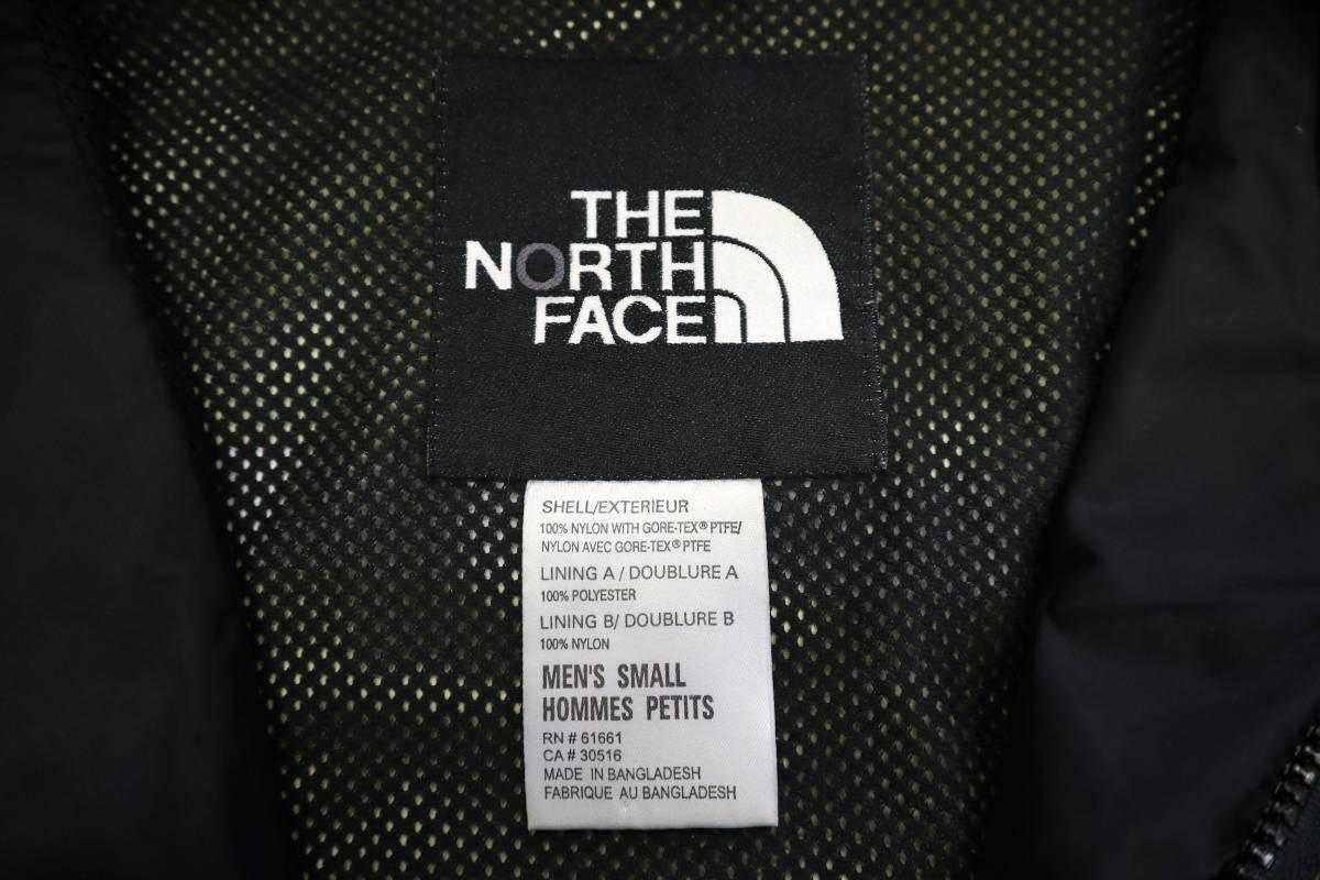 00's ビンテージ the north face gore-tex mountain light jacket カーキ 単色 ノースフェイス ゴアテックス マウンテンライト ジャケット_画像6