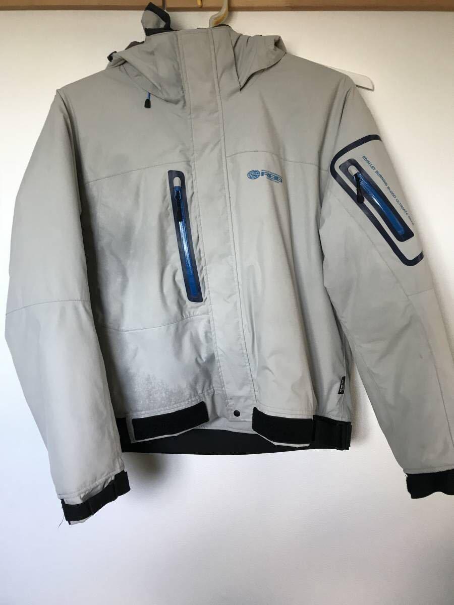 RBBリバレイ タイドウォームジャケット 防寒着ウェーディングジャケット 3L 定価23760円_画像2