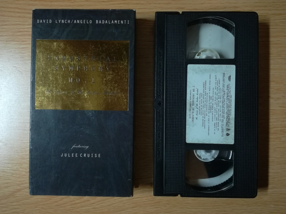 【VHS】David Lynch/Angelo Badalamenti/Julee Cruise - Industrial Symphony No. 1:The Dream Of The Broken Hearted 1990年_画像1