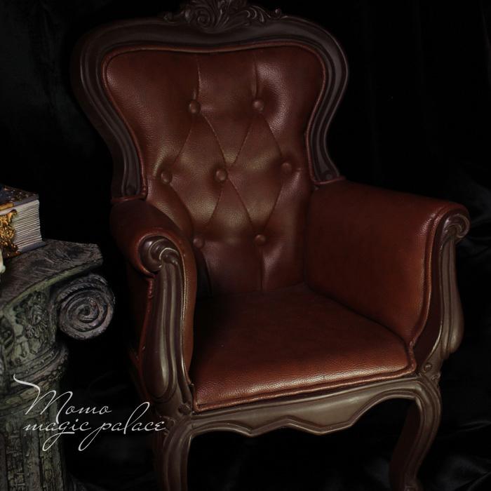 新品 特価商品 数量限定 BJD用家具 ソファー 全2色 ブラウン ブラック ドール用 doll 球体関節人形用 70cm/SDサイズ通用 復古 撮影 DY-003_画像1