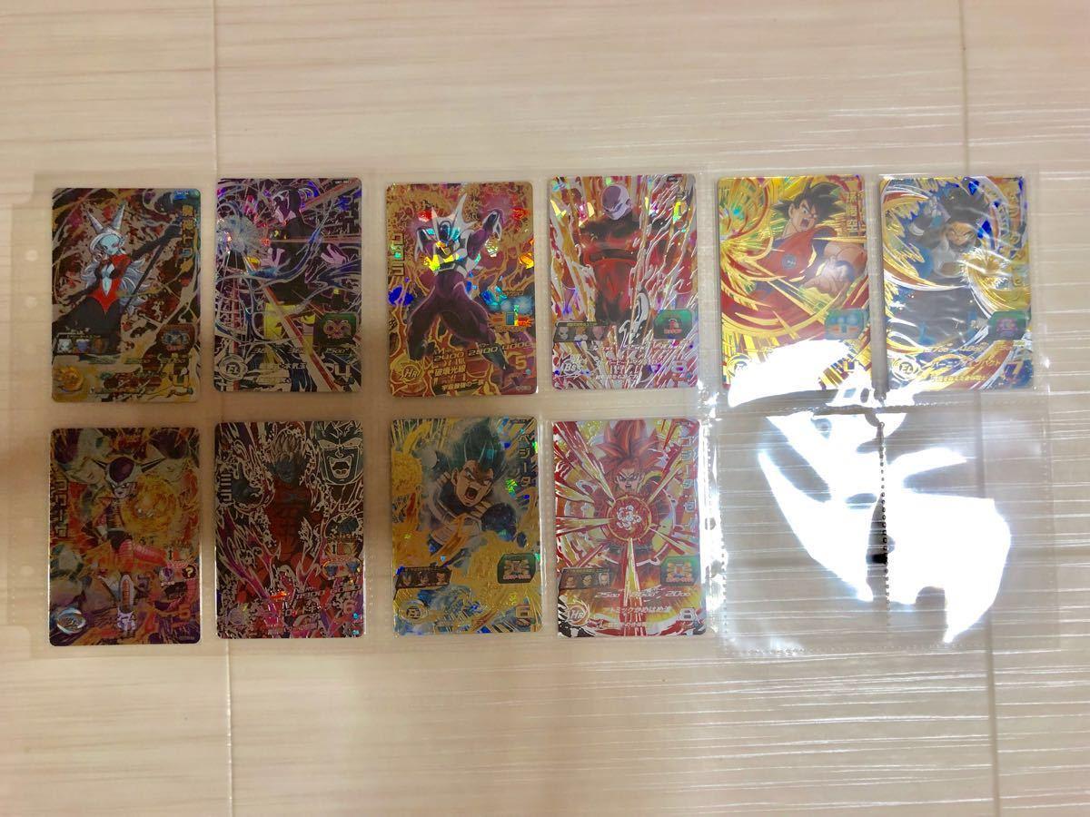 【引退】激安(1円~) ドラゴンボールヒーローズ SEC UR 大神官 ブルベジ など 74枚セット_画像5