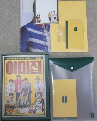 BTS☆防弾少年団★GLOBAL ARMY 5期☆ファンクラブキッド★未使用_画像2
