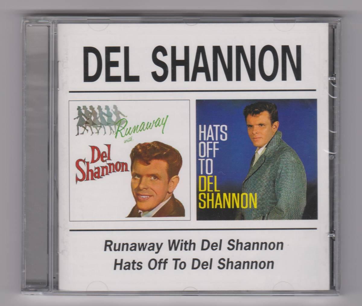 【新品/輸入盤CD】DEL SHANNON/Runaway With DEL SHANNON & Hats Off To DEL SHANNON_(出品商品はシールド状態です)