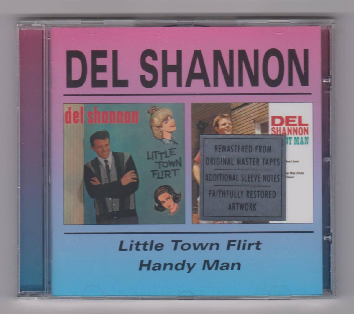 【新品/輸入盤CD】DEL SHANNON/Little Town Flirt & Handy Man_(出品商品はシールド状態です)