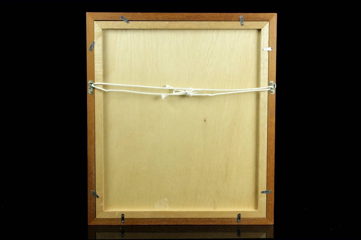 ◆櫟◆ 真作保証 小磯良平 「婦人」 銅版画 111/120 直筆サイン T[E23]PV/10KB_画像10