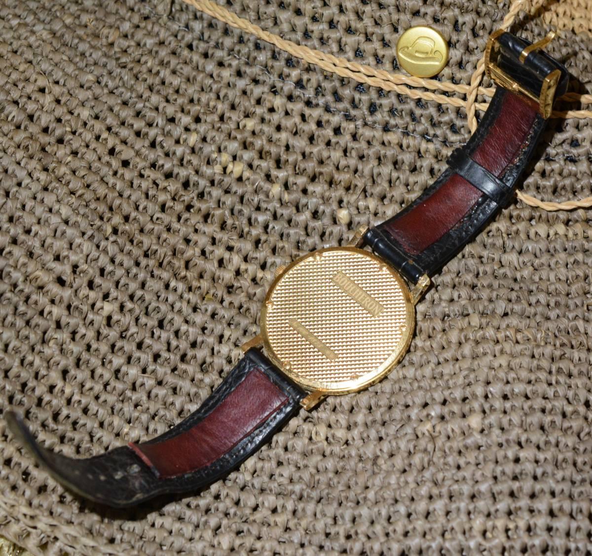 ブシュロン BOUCHERON ロンド ディアマン ゴールド 金無垢 ゴールド 18K 時計 ウォッチ シェル文字盤_画像5