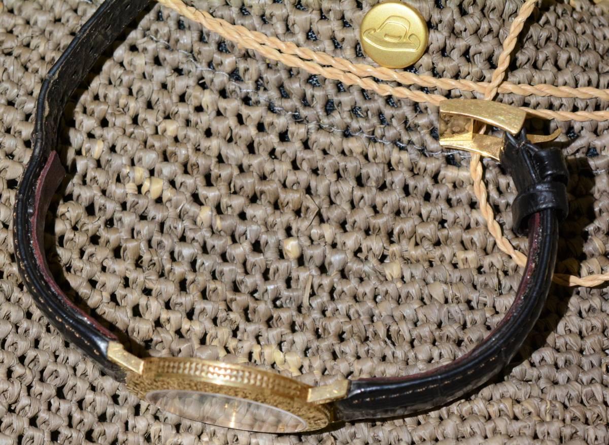 ブシュロン BOUCHERON ロンド ディアマン ゴールド 金無垢 ゴールド 18K 時計 ウォッチ シェル文字盤_画像4