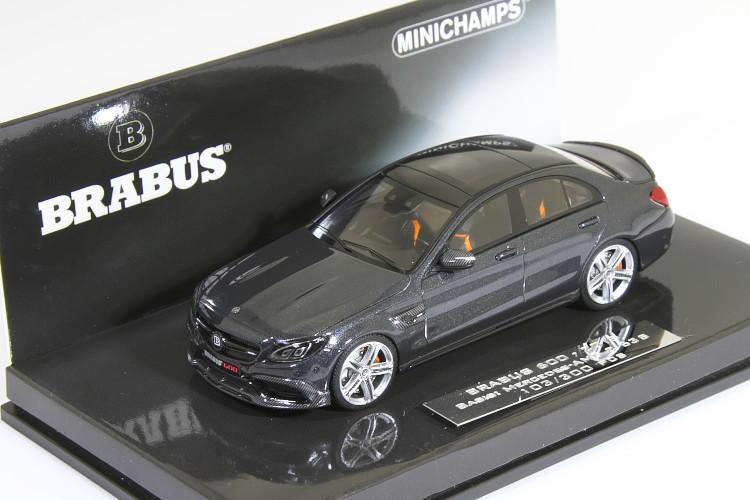 2015-1//43 MINICHAMPS BRABUS 600 AUF AMG C63 S