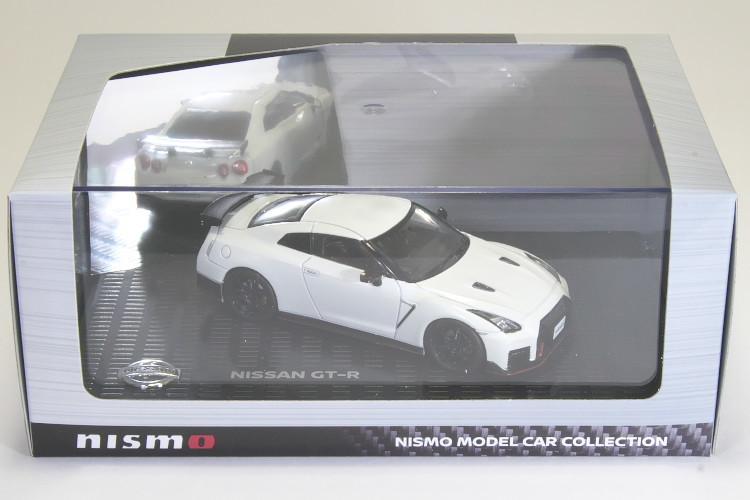 京商 1/43 日産 GT-R ニスモ R35 ブリリアントホワイトパール NISSAN NISMO Brilliant White Pearl_画像1
