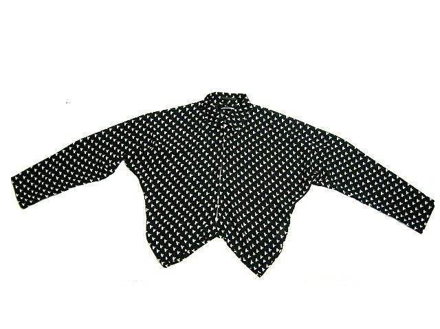 tricot COMME des GARCONS AD1994 トリコ コムデギャルソン 裾変形デザインのドルマンスリーブ 薄手ブルゾン ジャケット_画像3