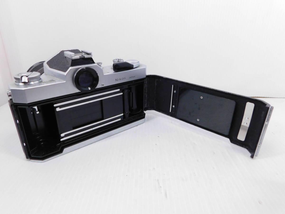 NIKON ニコン/一眼レフカメラ/ボディ Nikomat FT2/単焦点レンズ NIKKOR-Q Auto 135mm F2.8/取説付属!!/MF ニコマート/管A1003_画像8