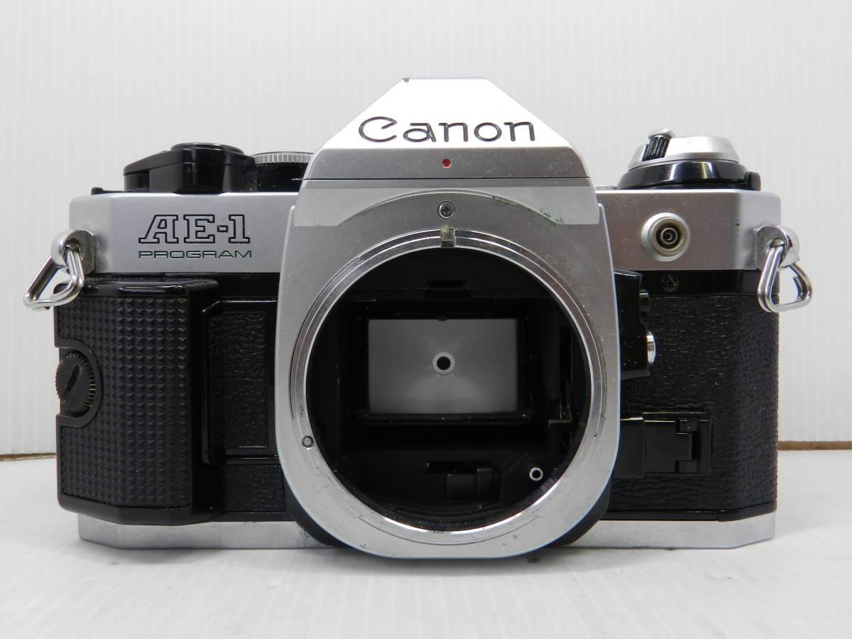 CANON キヤノン/一眼レフカメラ/ボディ AE-1 PROGRAM/動作品/MF/プログラム/コレクション/管A1007