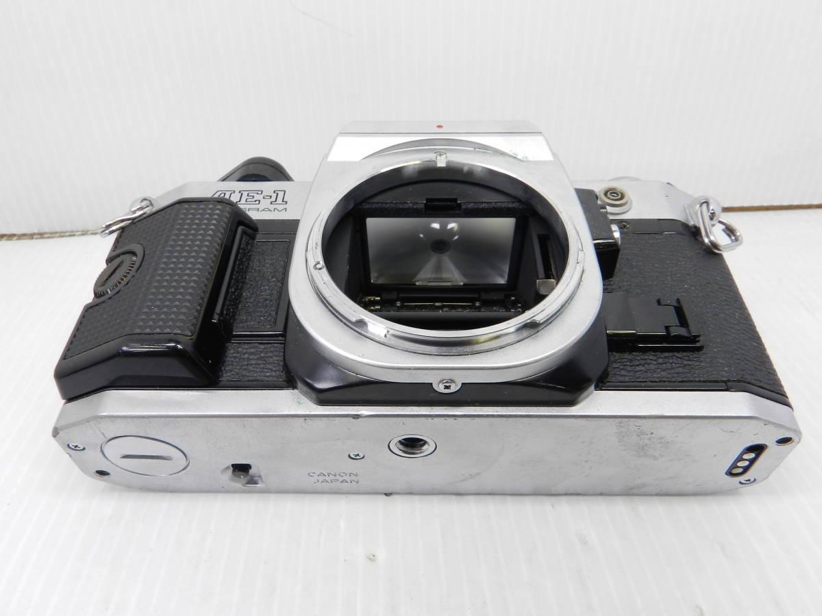 CANON キヤノン/一眼レフカメラ/ボディ AE-1 PROGRAM/動作品/MF/プログラム/コレクション/管A1007_画像4