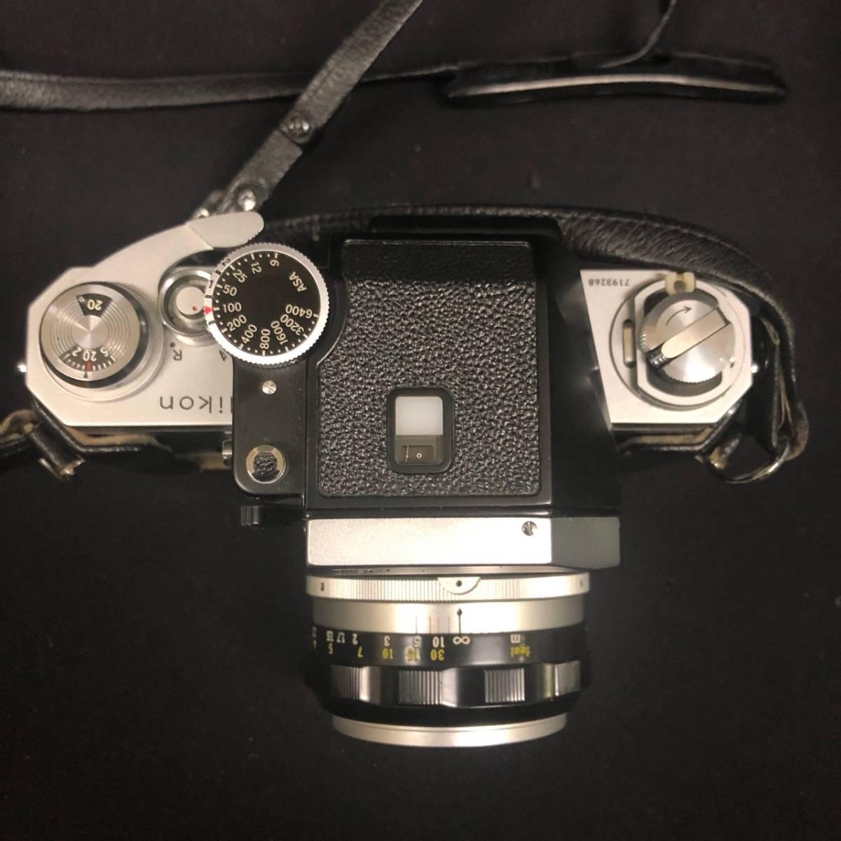C20A01A Nikon F ニコン 一眼レフ カメラ レンズ 1:1.4 50mm ファインダー フォトミックファインダー _画像4