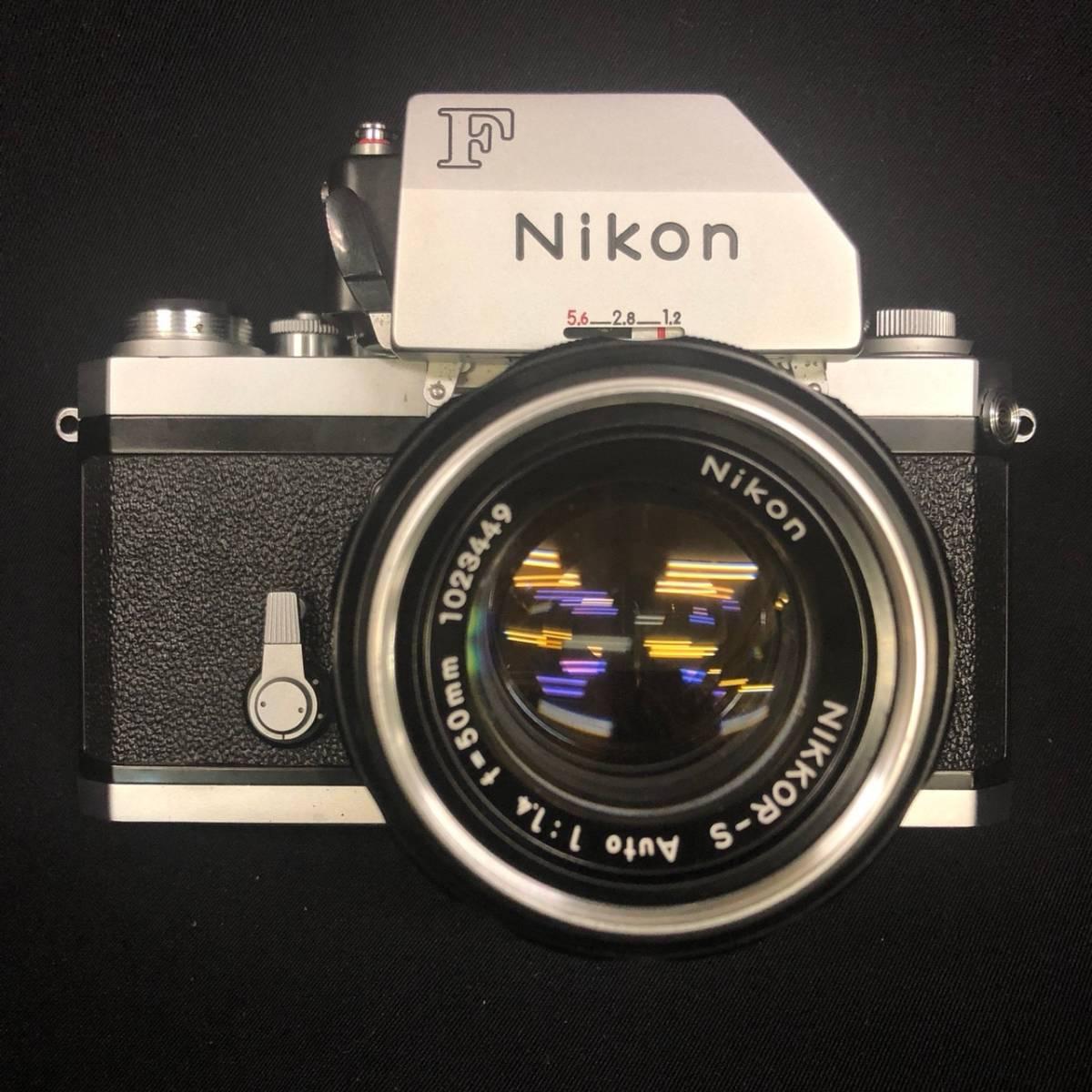 C20A01A Nikon F ニコン 一眼レフ カメラ レンズ 1:1.4 50mm ファインダー フォトミックファインダー _画像2