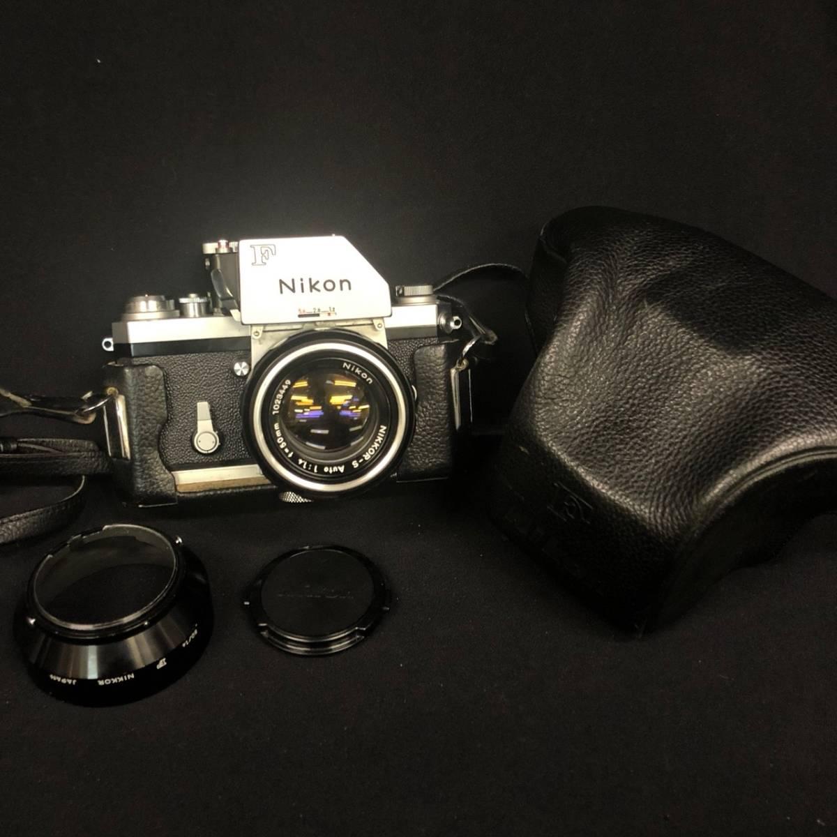 C20A01A Nikon F ニコン 一眼レフ カメラ レンズ 1:1.4 50mm ファインダー フォトミックファインダー