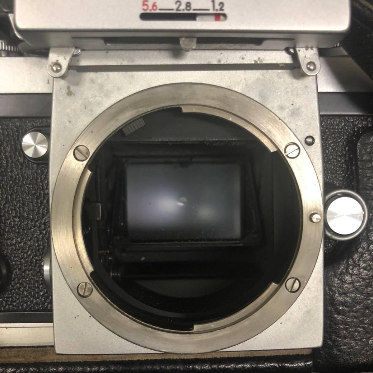 C20A01A Nikon F ニコン 一眼レフ カメラ レンズ 1:1.4 50mm ファインダー フォトミックファインダー _画像5
