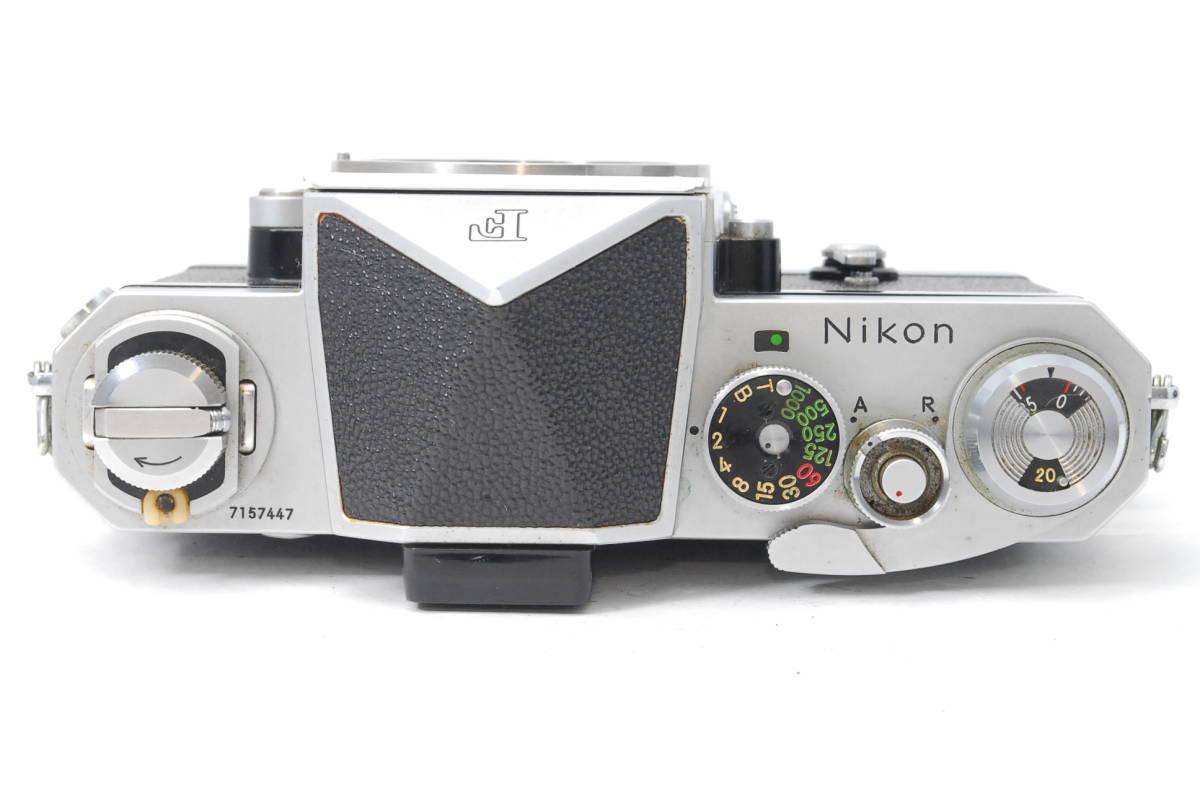 貴重品 ニコン Nikon F アイレベル ボディ ♯3409_画像4