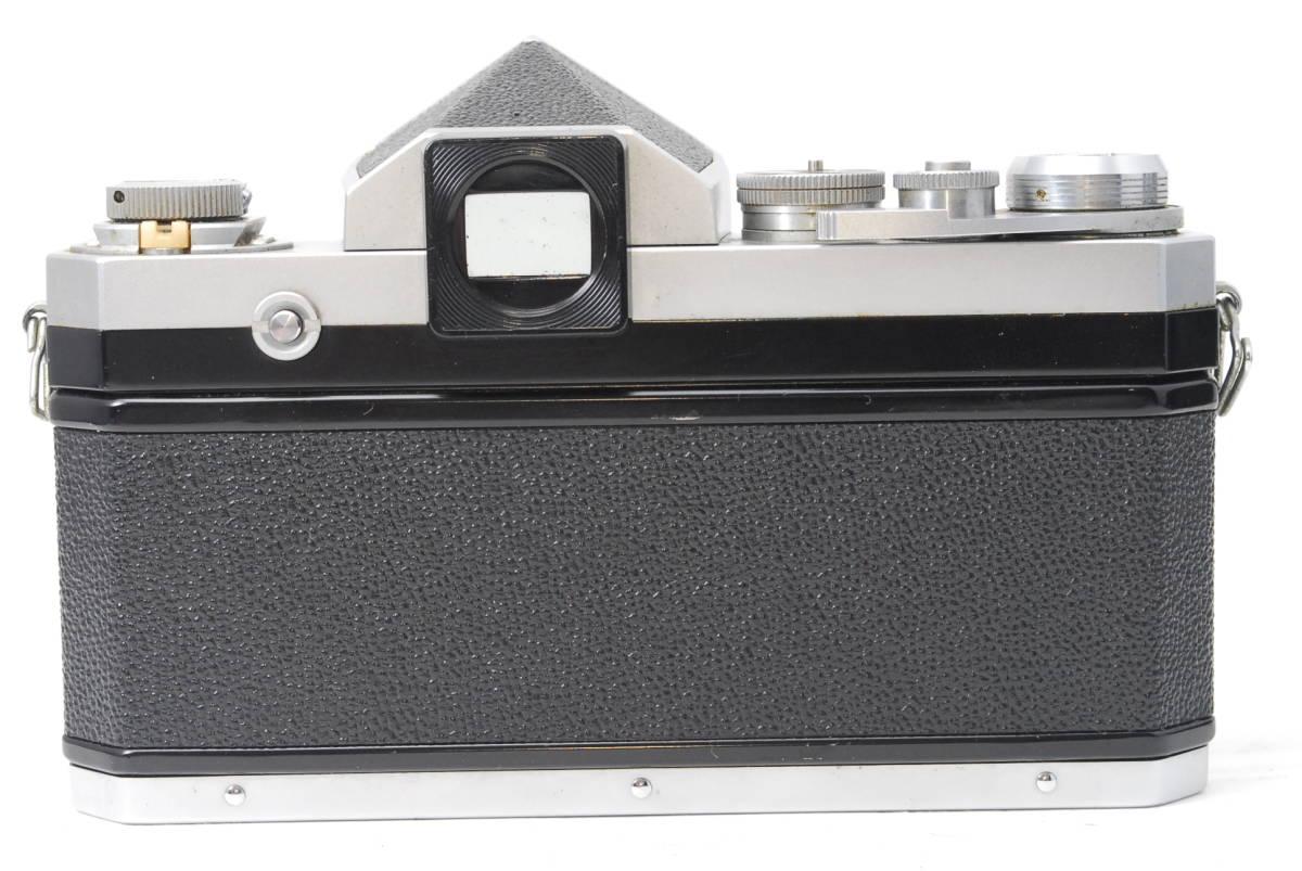 貴重品 ニコン Nikon F アイレベル ボディ ♯3409_画像5